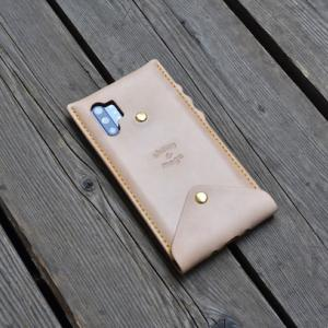 galaxy note 10 plus leather case
