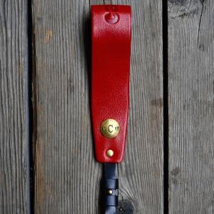 brass concha hand strap