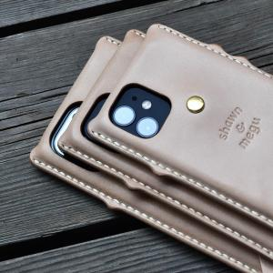 iPhone 12 leather case