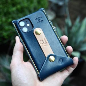 iphone mini leather case custom