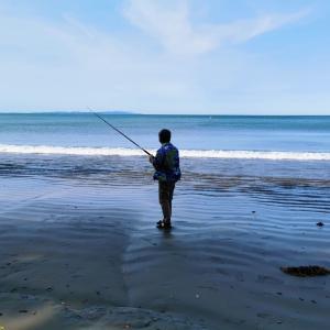 夏の南半球で釣り再開