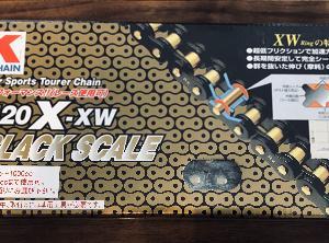 GSX1100S チェーン520化