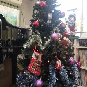 12月開始!本格的にクリスマスモードです♪