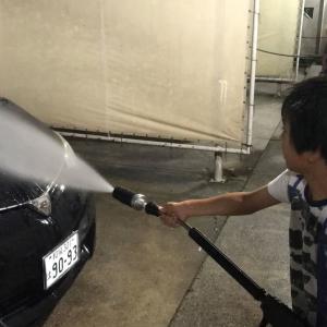 ネオ 初洗車‼︎