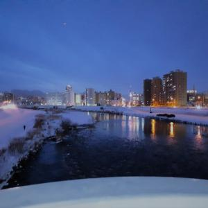 札幌・街の一コマ : 水穂大橋より