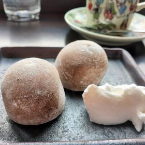 札幌でカフェタイム(39) 宮田屋珈琲豊平店で「珈琲大福」をいただく