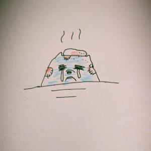 【癒しを邪魔する怪しいカゲ】銭湯でふっとんだ話