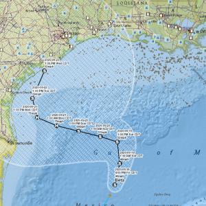 米国海洋油田にまたハリケーン