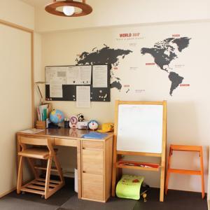 【和室兼次男の学習スペース】マグネットボードを設置しました