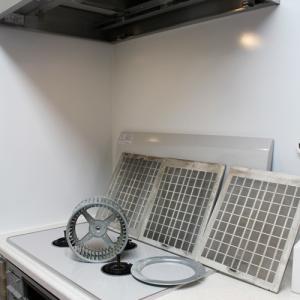換気扇掃除とキッチン