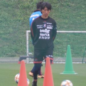 ファジアーノ岡山練習見学。