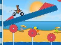 Moto X3M Pool Party/海岸のバイクレースゲーム