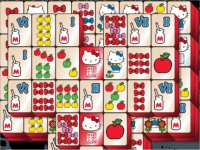 Hello Kitty Mahjong/キティちゃんの牌の上海ゲーム