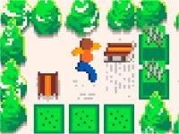 Toboggoban/倉庫番風ソリ運びパズルゲーム