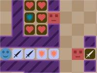 HP Atk Def/ステータスを比較して戦うパズルゲーム