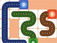 Logic Tail/尻尾でステージを埋めるパズルゲーム
