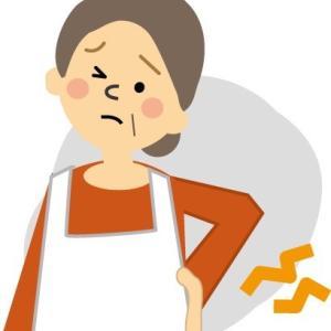 梅雨 急性腰痛(ギックリ腰)増加