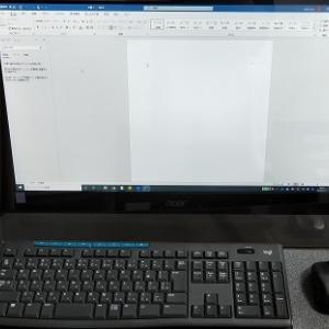 ノートパソコンをデスクトップ化してみました
