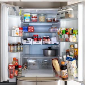 冷蔵庫のルール② 縦にもゆるくゾーニングする