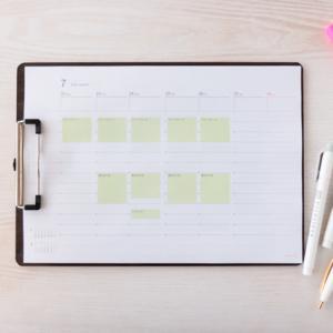 1マイ手帳で作る、夏休みの子どものスケジュール&宿題管理