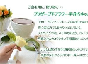 (在宅応援キャンペーン)商品20%OFF+送料は330円のみ・お家にお花を・お家でハンド