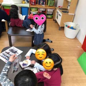 コサージュでみんな笑顔(^^) リンクスマイルさんで、入園式、入学式のコサージュ作りをしました。