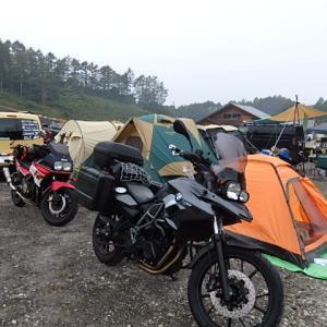 バイクでお出かけ【北軽井沢アースマイルビレッジ】グループキャンプその3