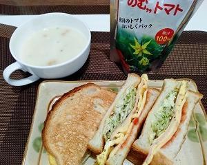 おうちご飯色々【サンドイッチとかすき焼きとかタラちりとか】
