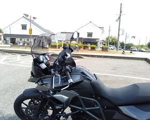 バイクでお出かけ【道の駅さかい】半日ツーからのオイル交換
