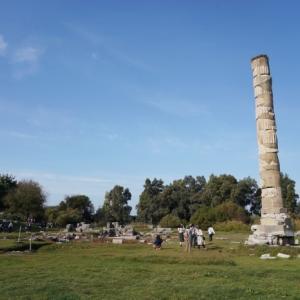 トルコ世界遺産の旅Ⅱーエフェソス