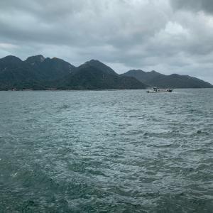 雨の宮島、それでもやっぱりいいな^_^