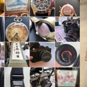 10月20~22日は鎌倉。  23~25日は葉山・逗子地区 玄関先まで買取にお伺い致します。