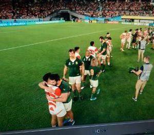 ラグビーワールドカップ日本代表に感謝 ワンチームとノーサイドの精神