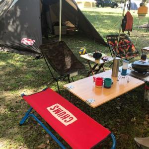 キャンプ二日目