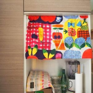 食器棚の目隠し