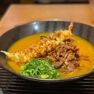 京都 味味香 冷やしカレーうどん