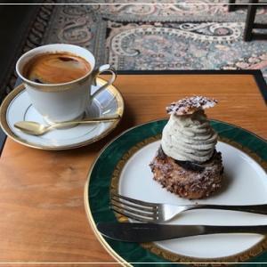 菓子屋シノノメと喫茶半月。