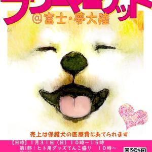 サポートのお礼「犬の唄/親指企画」さん・櫻婆さん・高知動物守り隊(カニママ経由)さん