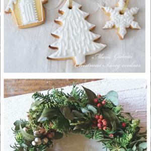クリスマスコラボレッスン「花とお菓子のノエル」