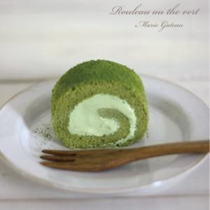 「抹茶ロールケーキ」教室