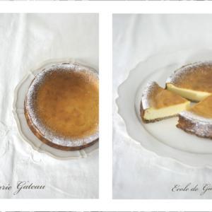 お菓子作りの基礎教室「ベイクドチーズケーキ」