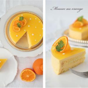 夏のお菓子教室「オレンジムース」