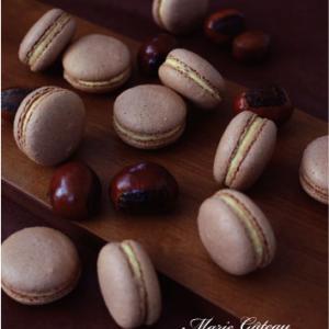 季節のお菓子教室「和栗のマカロン」