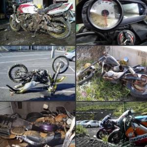 台風で河川氾濫とかテレビで見るけど、バイク大丈夫だったか!?