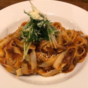 【食べ歩き】「イタリア食堂ZiZi 」生パスタミートソース