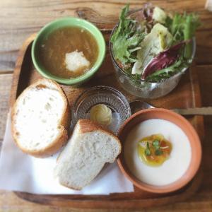 【食べ歩き】「UHURU」はまぐりと絹皮茄子のパスタ:松山市
