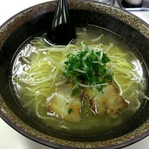 【ラーメン】「麺家 なかむら」塩ラーメン:松山市