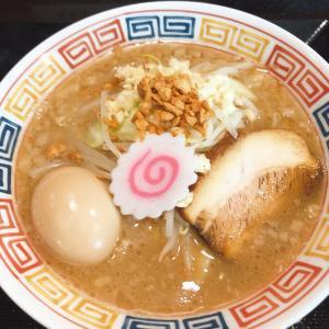 【ラーメン】「ラーメン食堂 縁」ガリ豚パンチ小豚:松山市