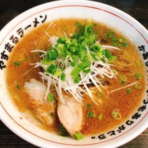 【ラーメン】「やすまるラーメン」カツオラーメン:松山市