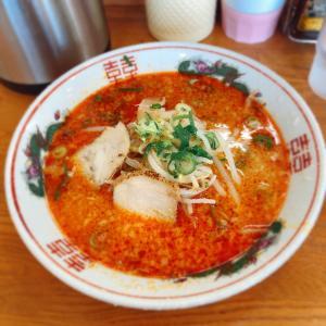 【ラーメン】「鑫龍」紅ラーメン:松山市